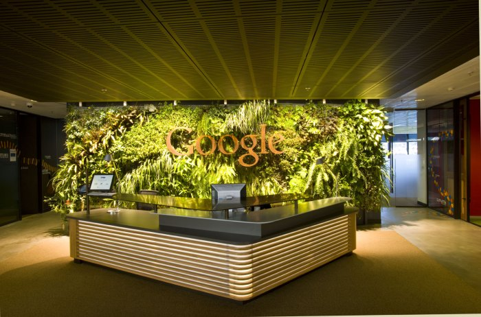 google australia reception